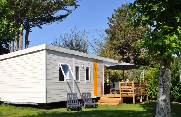 Mobile Home DECLIK with semi-covered terrace