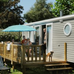 mobil-home camping raguenes plage