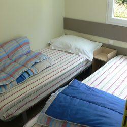 mobile home oceane chambre deux lits raguenes plage